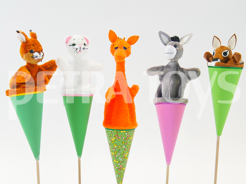 Cone puppets